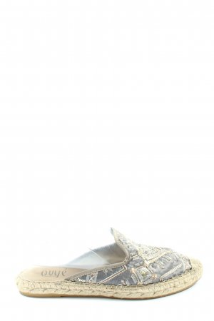 Ovyé Komfort-Sandalen grafisches Muster Casual-Look