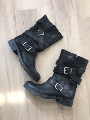 Ovyé Bottes d'hiver noir