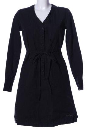 Oxbow Shirtwaist dress black casual look