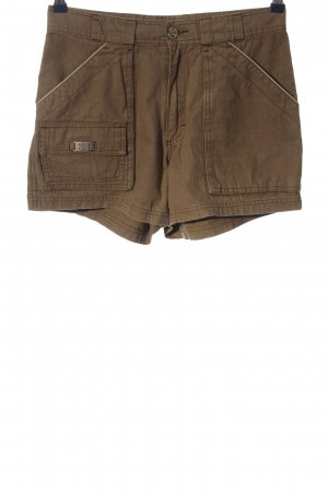 Oxbow High-Waist-Shorts braun Casual-Look