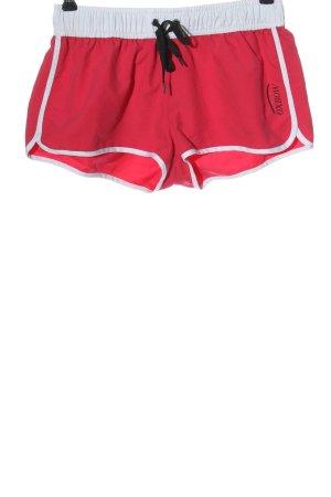Oxbow Short de sport rouge style simple