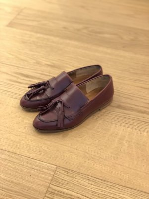 Oxford Business Schuhe in Braun