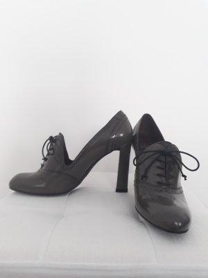 Stuart weitzman Chaussure Oxford gris-gris foncé