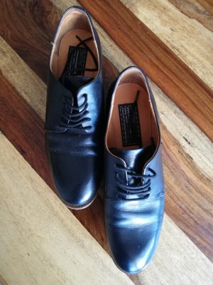 Bertie Oxfords black-brown leather