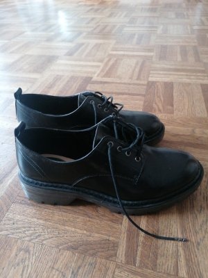 Bershka Oxfords black