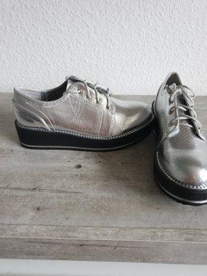 Zapatos Budapest color plata