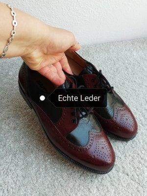 Hartjes Chaussure Oxford noir-violet
