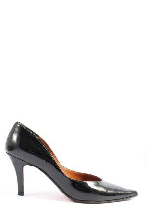 Oxitaly High Heels schwarz Business-Look