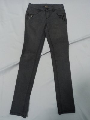 Oxmo Jeans slim fit grigio scuro Tessuto misto