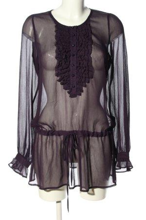 Oxmo Long-Bluse schwarz Casual-Look