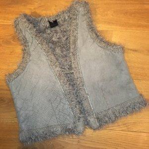 Oxmo Fur vest multicolored