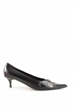 Oxmox Spangen-Pumps schwarz Casual-Look