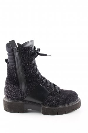 Botas con cordones negro estilo «business»