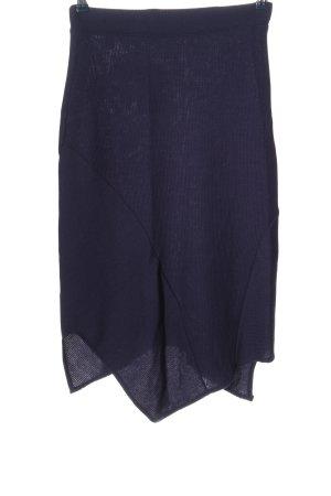 OXXO Asymetryczna spódniczka fiolet W stylu casual