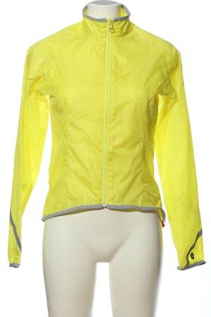 Oxylane Impermeabile giallo pallido stile casual