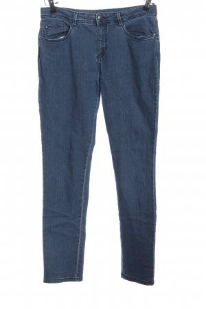 oyanda Hoge taille jeans blauw casual uitstraling