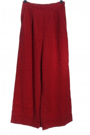 Oysho Baggy Pants red casual look