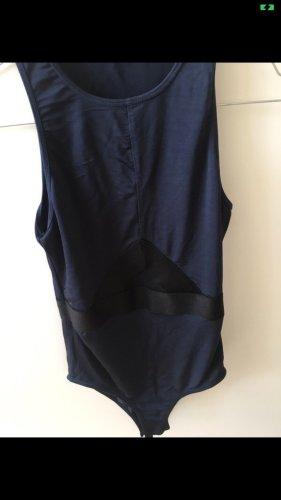 Oysho Leisure suit black-dark blue