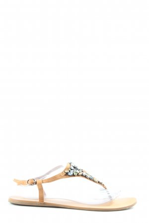 Oysho Dianette Sandals natural white casual look