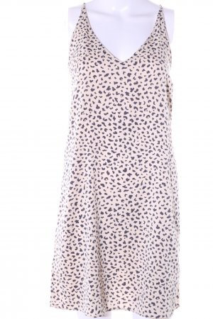 Oysho House-Frock cream-black allover print casual look