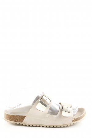 Oysho Comfort Sandals natural white casual look