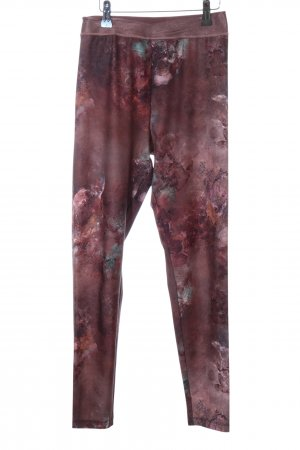 Oysho Leggings abstraktes Muster extravaganter Stil