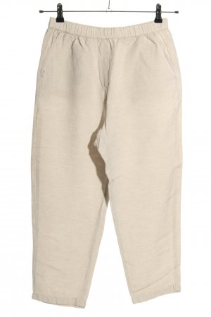 Oysho Pantalone di lino bianco sporco puntinato stile casual