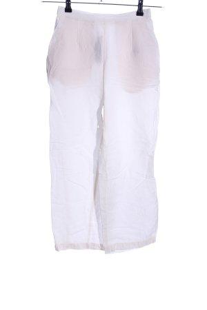 Oysho Pantalone di lino bianco stile casual