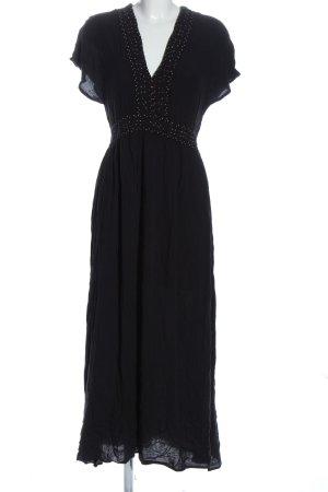 Oysho Maxi abito nero effetto bagnato