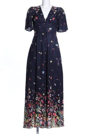 Oysho Maxi Dress flower pattern casual look