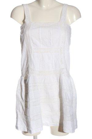 Oysho Minikleid weiß Casual-Look