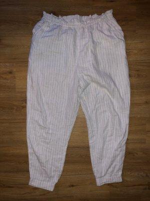 OYSHO Pyjama Hose hellgrau Größe L