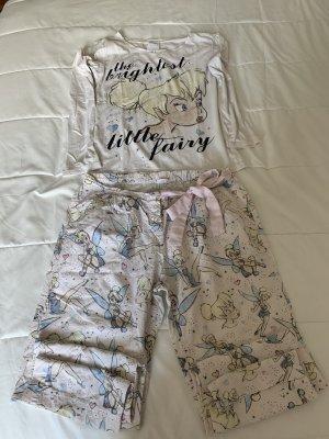Oysho Piżama biały-jasny różowy