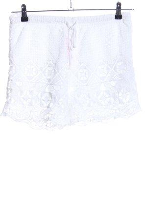 Oysho Shorts weiß Casual-Look