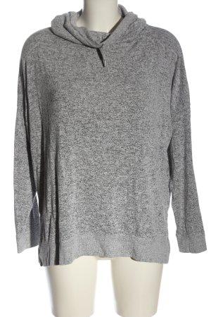 Oysho Maglione lavorato a maglia grigio chiaro-nero puntinato stile casual