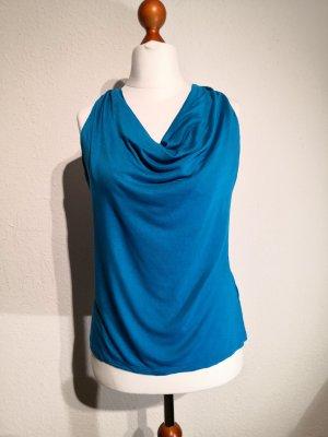 Halter Top blue-neon blue