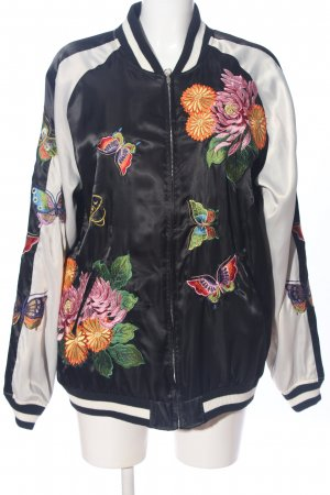 P.A.R.O.S.H. Reversible Jacket black-natural white casual look