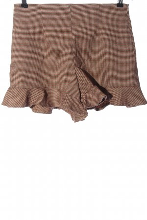 P&Co High-Waist-Shorts check pattern casual look