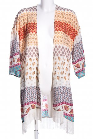 P.J. Salvage Kimono Blouse graphic pattern casual look