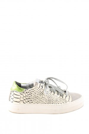 P448 Schnürsneaker Animalmuster Casual-Look