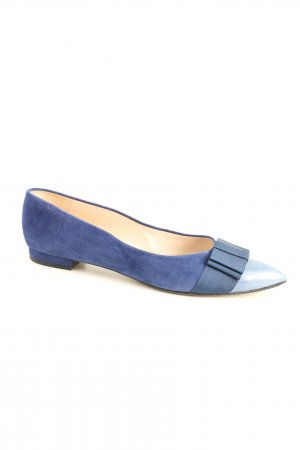 Paco Gil Ballerinas with Toecap blue business style