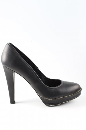 Paco Gil High Heels schwarz Casual-Look