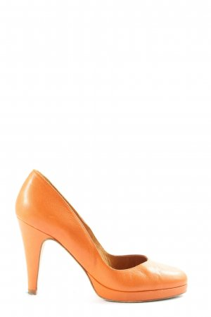 Paco Gil Hochfront-Pumps hellorange Casual-Look