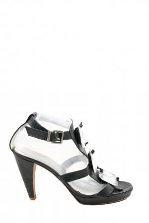 Paco Gil Plateau-Pumps schwarz Casual-Look