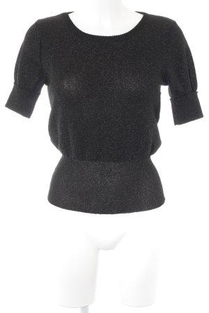 Paco Rabanne Strickshirt schwarz Casual-Look