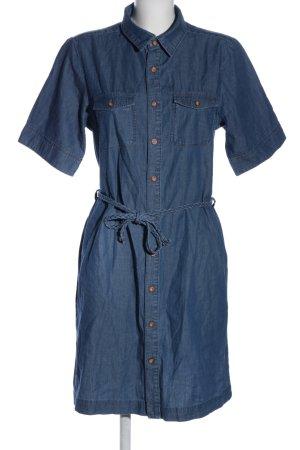 Paddock's Jeanskleid blau Casual-Look