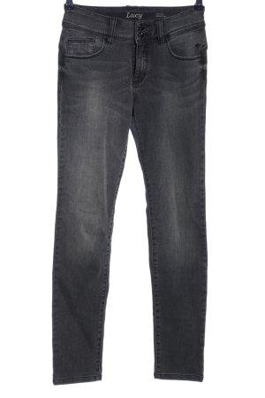 Paddock's Skinny Jeans hellgrau Casual-Look