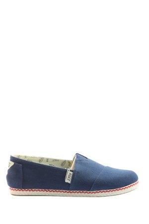 Paez Instapsneakers blauw casual uitstraling