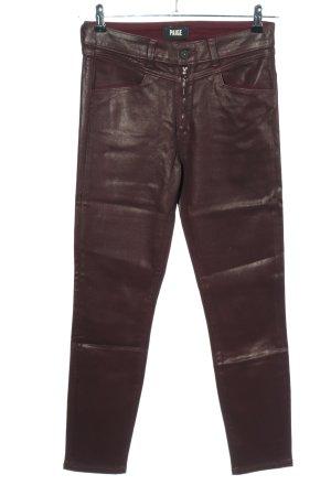 Paige Jeans a 7/8 lilla stile casual