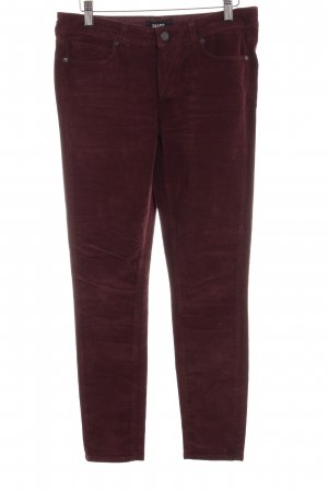 Paige Cordhose brombeerrot Casual-Look